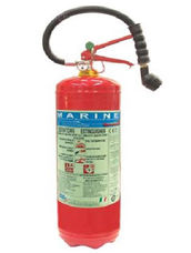 Fire Extinguisher, 9 Liter, AFFF Foam, Stored Pressure, ABS