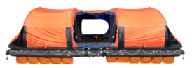 VIKING Liferaft, throw overboard (self-righting), 150 Pers. - 150DKS