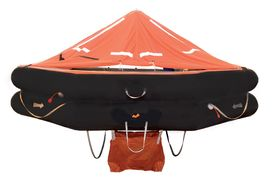 VIKING Training Liferaft - Davit launched