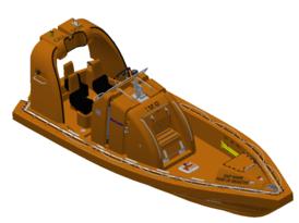 VIKING Norsafe Mako-655 MKI outboard FRB