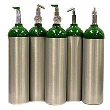 Erie Oxygen Spare Cylinder, Empty