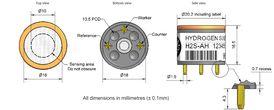 Spare Sensor MARINE-4 H2S/CO SENSOR