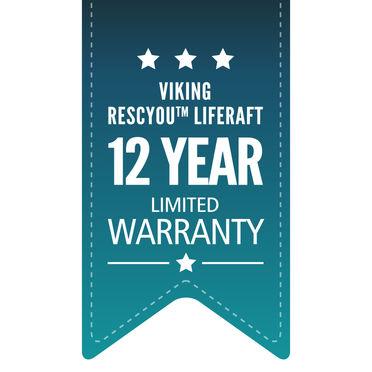 VIKING RescYou redningsflåder 12 års begrænset garanti
