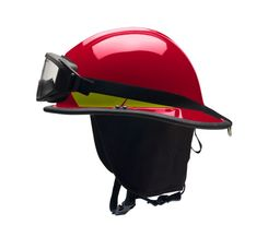 LTX Fire Helmet, Red (Bullard)